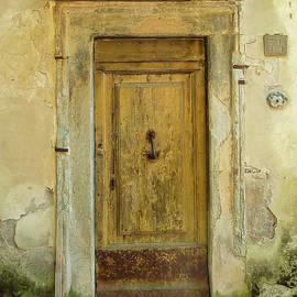 Old Tuscan Door by Norma Brandsberg