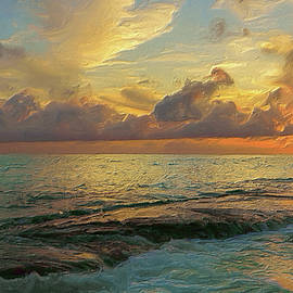 Paradise Sunset by Garvin Hunter