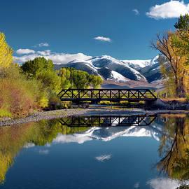 Perfect Autumn Day, Idaho by Leland D Howard