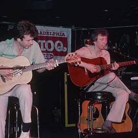 Peter White And Al Stewart by Rich Fuscia