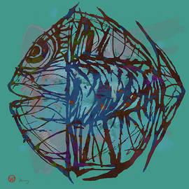 Kim Wang - Pop Art - New Tropical Fish Poster
