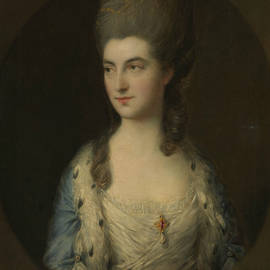 Portrait of a Young Woman, Called Miss Sparrow - Thomas Gainsborough