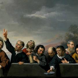 Portraits of the Inhabitants at St Jobsgasthuis in Utrecht - Jan van Bijlert