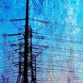 Power in blue by Werner Lehmann