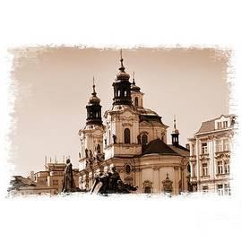 Old Memories Of Prague by Brenda Kean