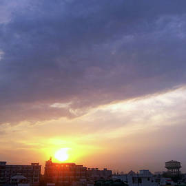 Purple Sunset by Atullya N Srivastava