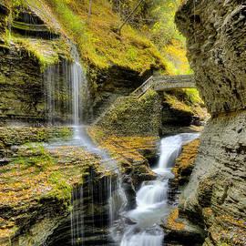 Rainbow Falls  by Rick Kuperberg Sr