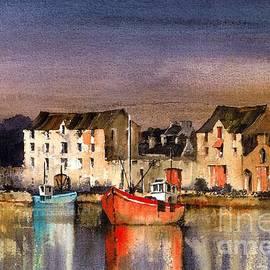 Ramelton Dusk, Donegal. by Val Byrne