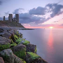Reculver Towers Sunset - Ian Hufton