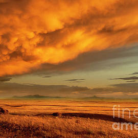 Bob Christopher - Red Rock Coulee Sunset 1