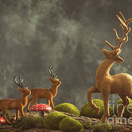 Amanda Elwell - Reindeer Scene