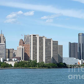 River View of Detroit by Ann Horn