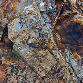 Rock Geometry by Julian Perry