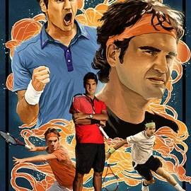 Blackwater Studio - Roger Federer