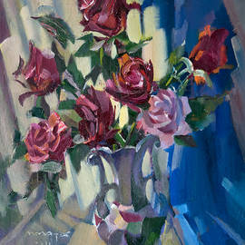 Nikolay Malafeev - Roses On Blue