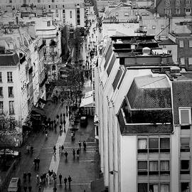 Rue Du Beaubourg. by Cyril Jayant