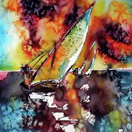 Kovacs Anna Brigitta - Sailboats at the sunshine