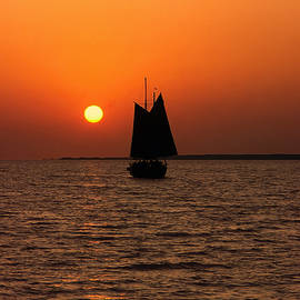Sally Weigand - Sailing Into the Sunset