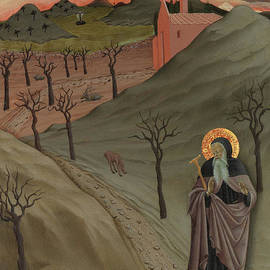 Saint Anthony the Abbot in the Wilderness - Master of the Osservanza