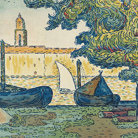 Saint-tropez by Paul Signac