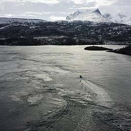 Saltstraumen view by Tamara Sushko
