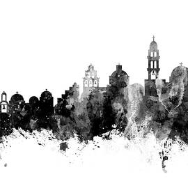 Santorini Skyline - Michael Tompsett