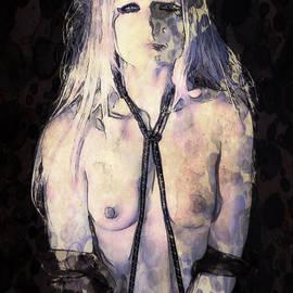 Self Portrait Pop Art by Mary Bassett - Mary Bassett