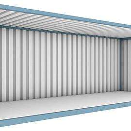 Shipping Container Cutaway - Allan Swart