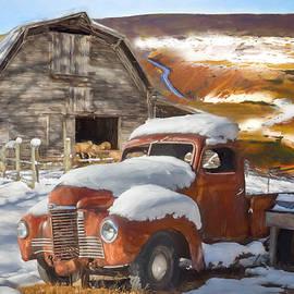 Debra and Dave Vanderlaan - Snowbound International Truck Painting