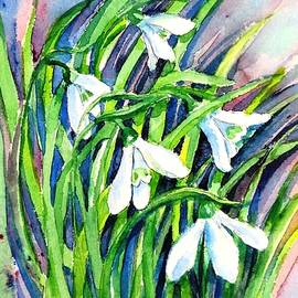 Snowdrops in the Wind   by Trudi Doyle