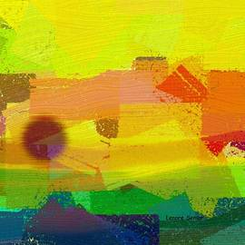 Lenore Senior - Spring Abstract