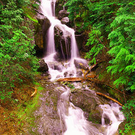 Jeff Swan - Spring waterfall