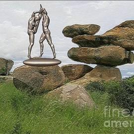 Pemaro - Statue of erotic acrobats 114