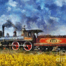 Ian Mitchell - Steam Locomotive