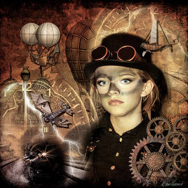 Steampunk Princess by Diana Haronis