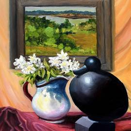Still Life With Recchia Duck by Eileen Patten Oliver