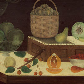 Still Life Of Fruit by American 19th Century