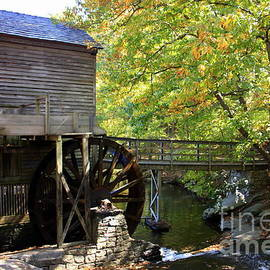 Stone Mountain grist mill by Charlene Cox