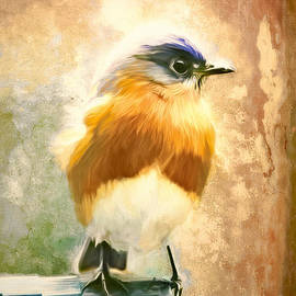 Strapping Bluebird by Tina LeCour