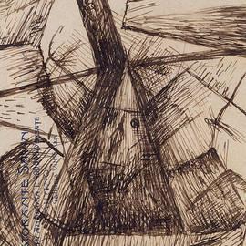 Study for Fusion of a Head and a Window - Umberto Boccioni