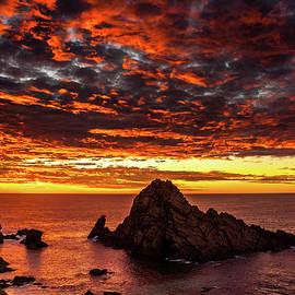 Robert Caddy - Sugarloaf Sunset
