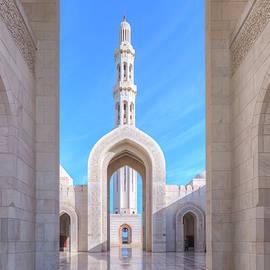 Sultan Qaboos Grand Mosque - Oman - Joana Kruse