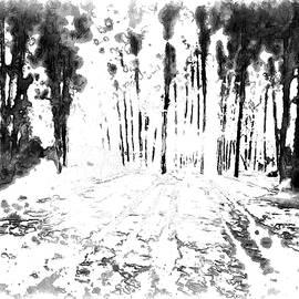 Mario Carini - Sumie Landscape