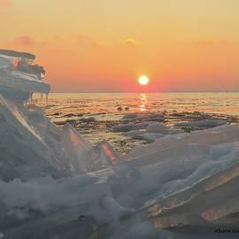 Alison Gimpel - Sunrise on Ice