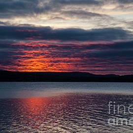 Philippe Boite - Sunrise on Lake William
