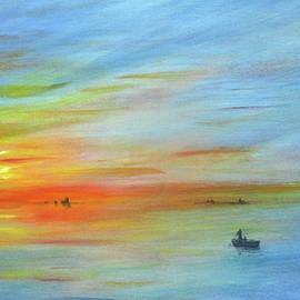 Sunrise On The River by Jerome Stumphauzer