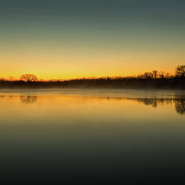 Michael Munster - Sunrise Over Kellogg Lake