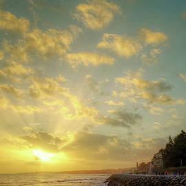 Sunset in the Coast - Carlos Caetano