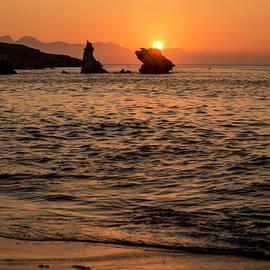Davide Damico - Sunset on the rocks