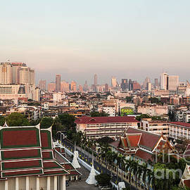Sunset Over Bangkok by Didier Marti